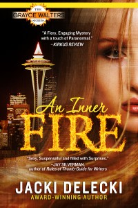 Jacki Delecki, An Inner Fire, Seattle, Romantic Suspense