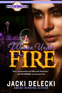 Jacki Delecki, Women Under Fire, romantic mystery, seattle