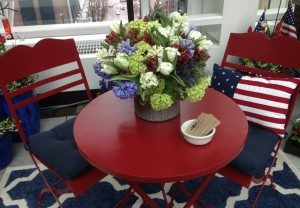 Flower Show American Table