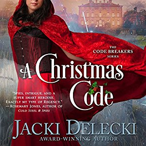 A Christmas Code audiobook by Jacki Delecki