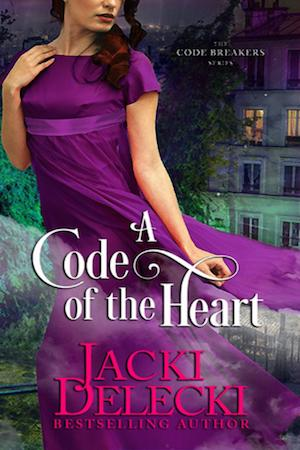 A Code of the Heart by Jacki Delecki