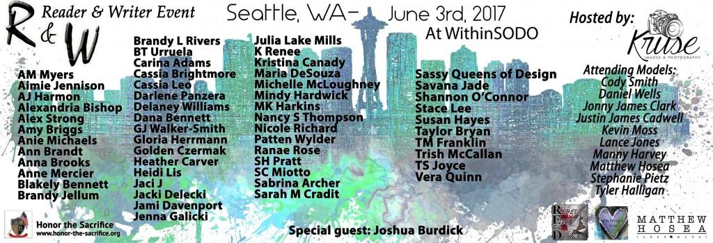 Seattle Reader Writer Event