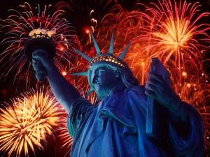 statue-fireworks