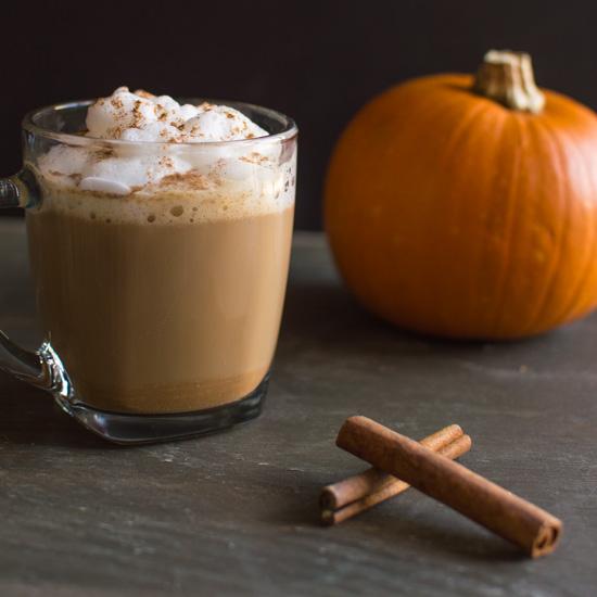 pumpkin latte dunkin donuts calories skim milk