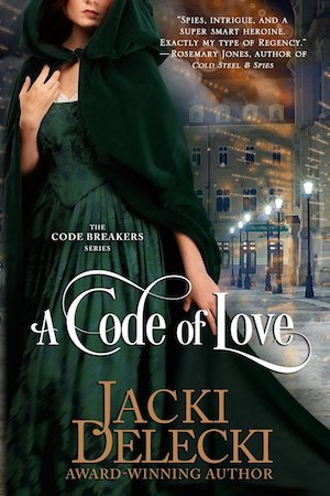 A Code of Love by Jacki Delecki